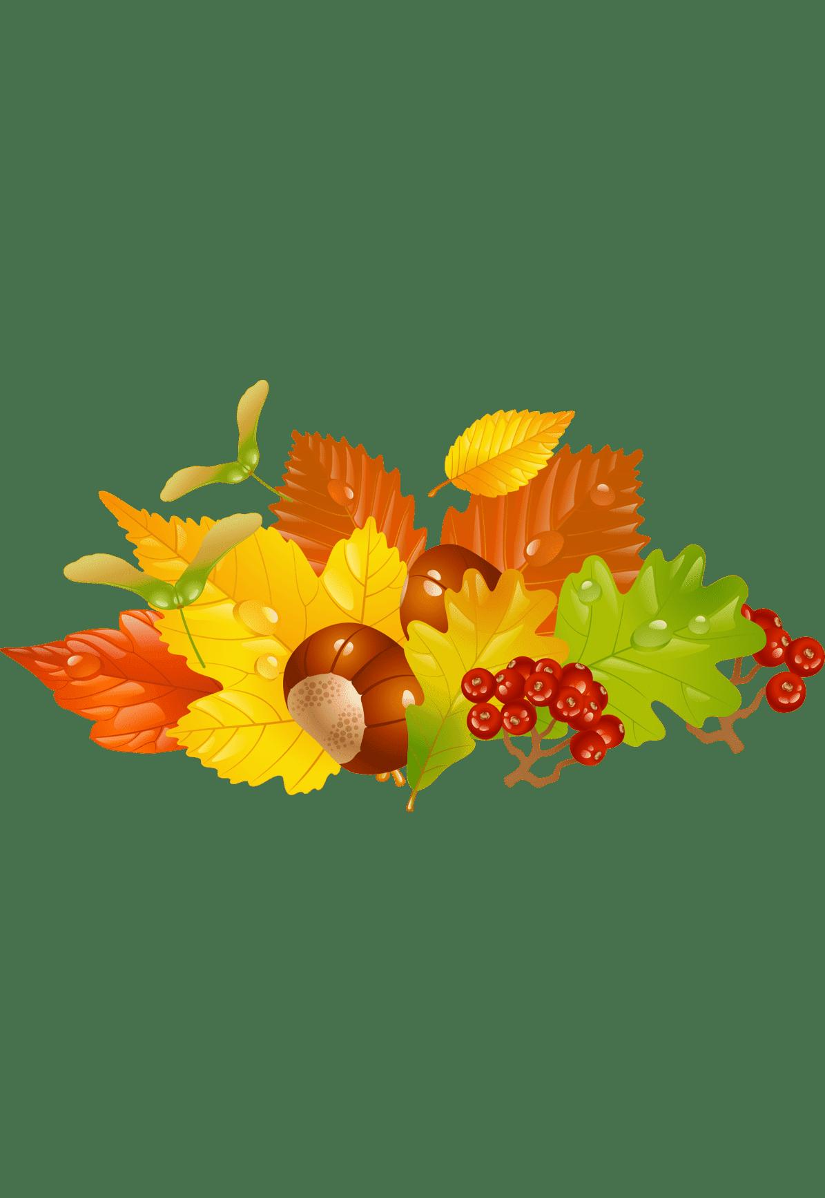 Раскраска осень золотая