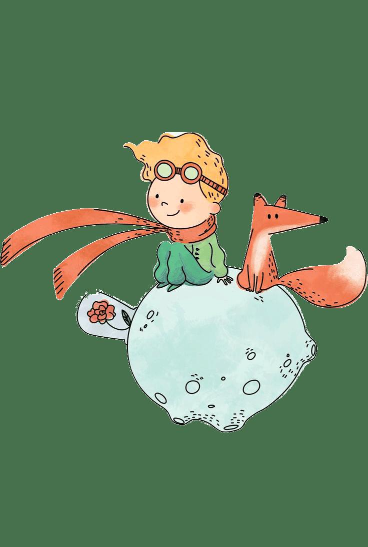 Раскраска Маленький Принц