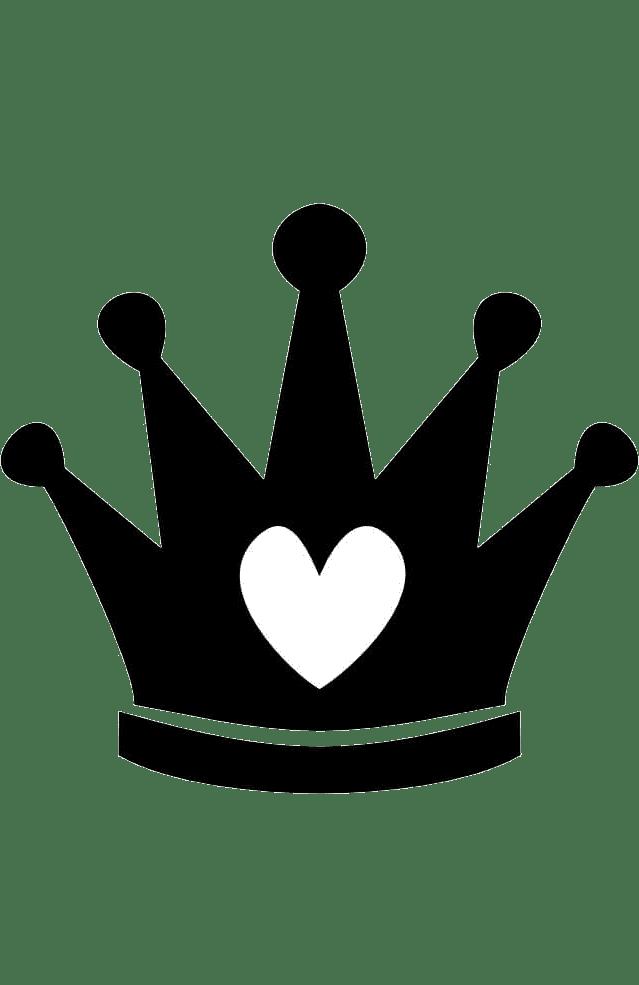Трафарет и шаблон Корона