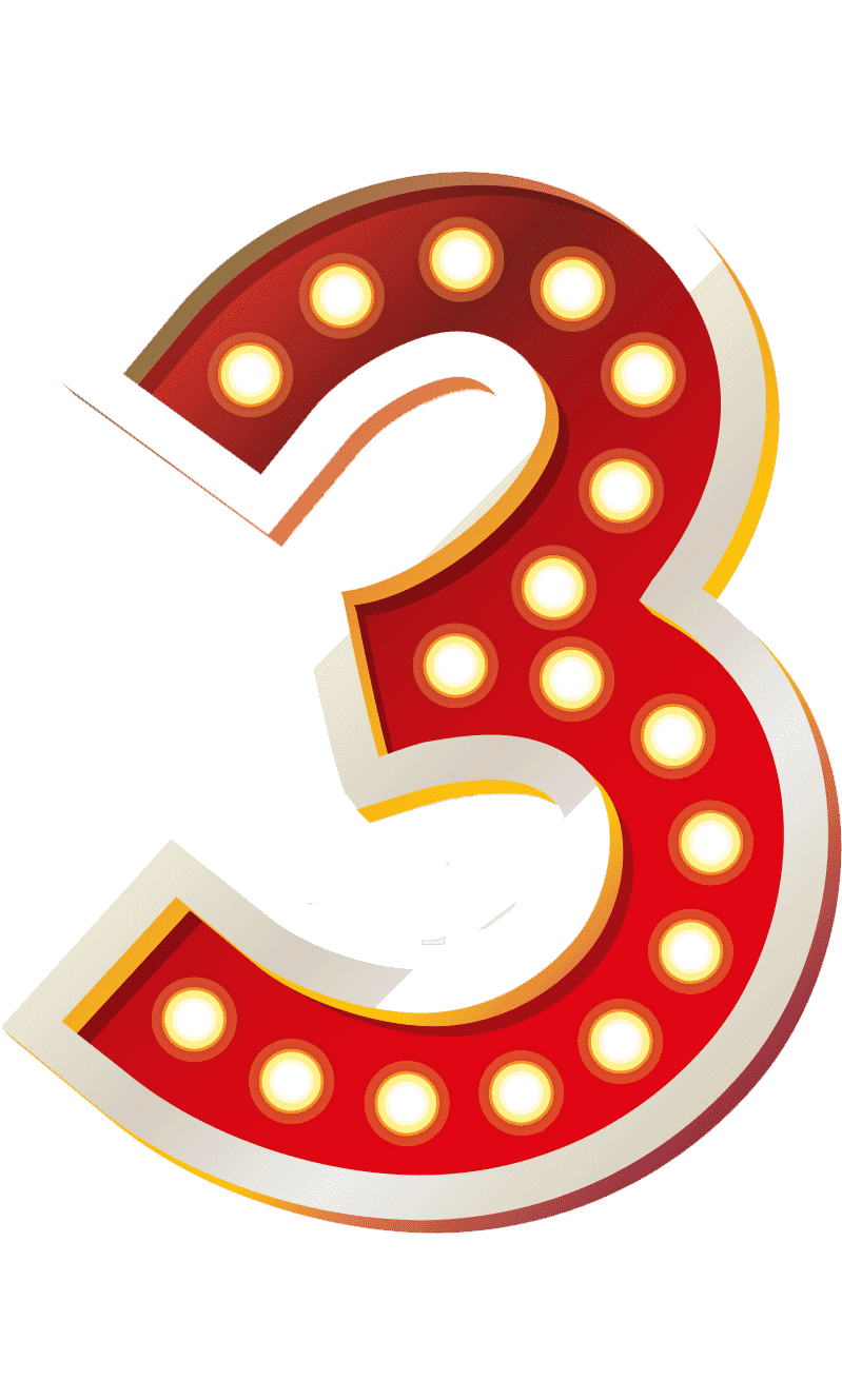 Раскраска цифра 3