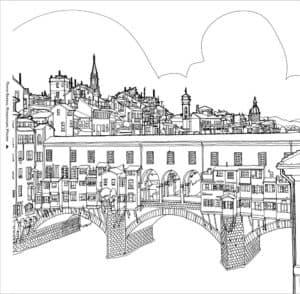 антистресс мост и город