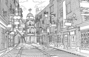 раскраска город санкт-петербург