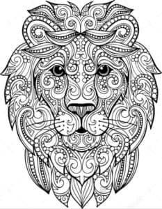 львиная морда