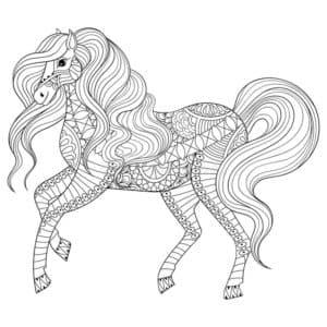 лошадка девочка