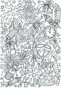 часы и новогодние сладости