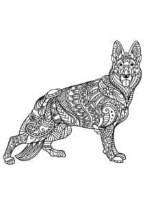 антистресс собака немецкая овчарка