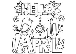 привет апрель