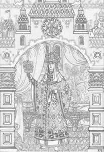 царевна красавица