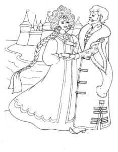 царь и царевна