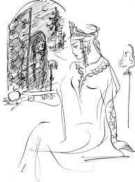 царевна и семь богатырей сказка
