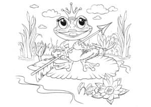царевна лягушка со стрелой картинка