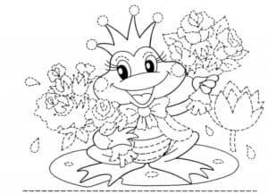картинка царевна лягушка