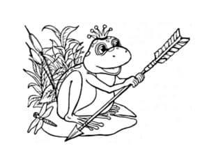 лягушка и стрела