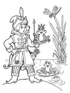 иван царевич держит лягушку
