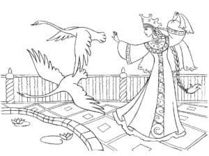 царевна и журавли
