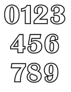 картинка цифры