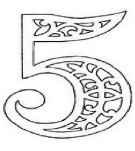 5 с узорами