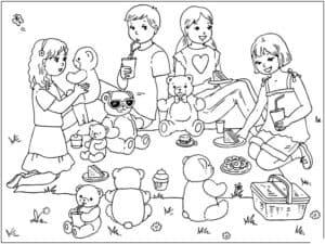 пикник в июле