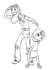 старик и мальчик