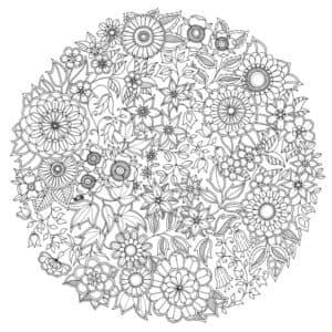 мандала цветы