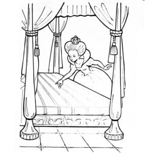 картинка принцесса на горошине