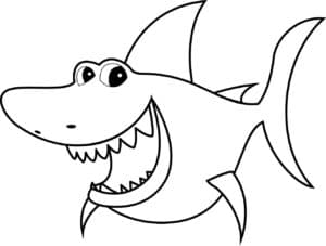 акула из мультика