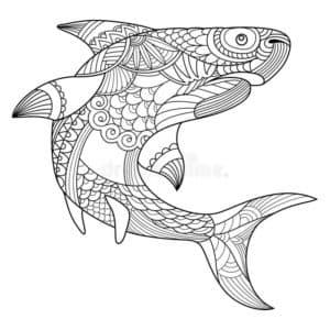 акула антистресс