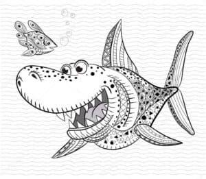 веселая акула антистресс
