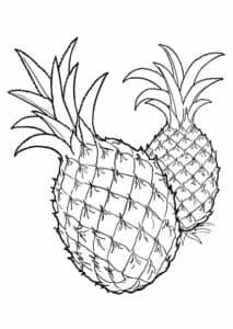 два ананаса