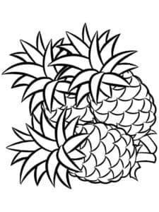 фрукты ананасы