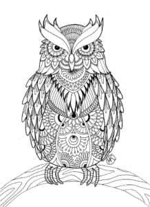 Грозная сова антистресс