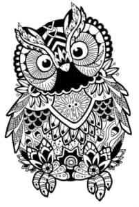 Веселая сова антистресс