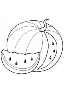 кусочек арбуза