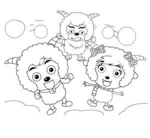 три барашка