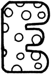 Буква Е с точками
