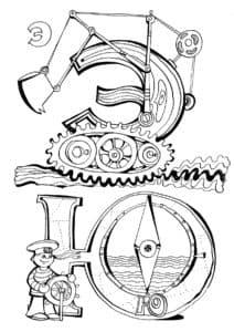 Раскраска буквы Э и Ю