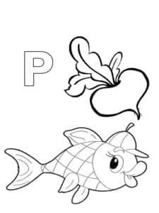 рыба и репа