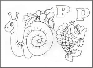 улитка и рыба