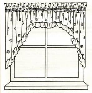 Окно и штора