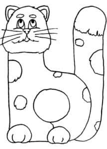 Буква Ы кошка