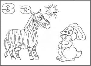 заяц и зебра