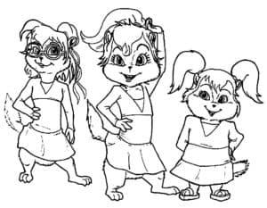 бурундуки школьницы