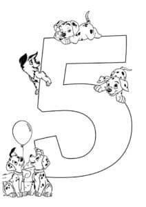 пять собачек