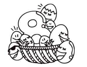 восемь яиц