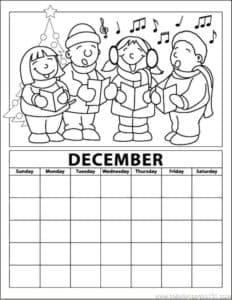 календарь декабрь