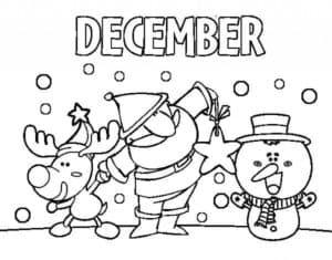 месяц декабрь