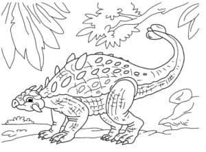 динозавр с шипами