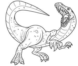 грозный динозавр