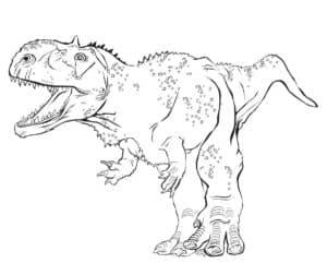 большой динозавр с маленькими лапами
