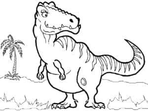 Динозавр из ледникового периода